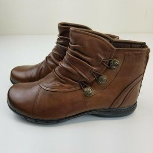 Womens 6.5 XW Shoes Rockport Cobb Hill Booties